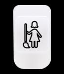 Lentila cu simbol iluminabil- MAKE UP THE ROOM