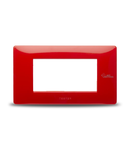 Placa ornament Rosu, aparataj  antimicrobian 4 module