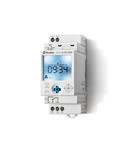 """Ceas programabil (programator) - 1 contact, 16 A, Standard, 110...230 V, Saptamanal cu comutație """"Astro"""", cu tehnologie NFC, 35.8 mm latime, C.A. (50/60Hz),"""