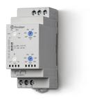 Releu de supraveghere/monitorizare și control - 1 contact, 6 A, Cu funcție de memorare a defectului, 380...415 V, C (contact comutator), C.A. (50/60Hz), Supravegherea retelei trifazate de C.A., 2 valori reglabile, Intarziere la deconectare reglabila