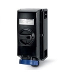 Priza Antiex 16A 2P+E 400V IP66 6H cu interblocaj