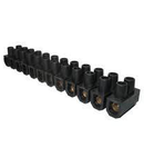 Regleta trecere  25mm negru Scame