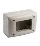 Doza pentru aprataj modular  IP40  3 module