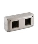 Doza pentru aprataj modular  IP40  4 module