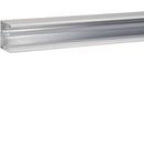 Canal cablu metalic, aluminiu RAL9010 45x45