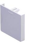 Piesă de capat pentru canal cablu metalic  GBD, 45mm, RAL9010
