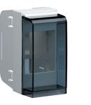 Cutie modulara 2M pentru montaj pe canal metalic de aluminiu GBA