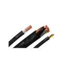 Cablu flexibil cupru 5x6 cu manta ignifugata RV-K