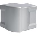 Colt exterior pentru canal cablu metalic, aluminiu anodizat 85x56