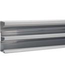 Canal cablu metalic, aluminiu anodizat 134x56