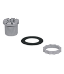 UNI METRIC ADAPTOR FITTING FROM PG36/M40 TO M40 HOLE IP67