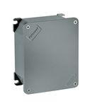 UNIBOX doza conexiuni  din aliaj aluminiu SIZE UNI B9 EXTERNAL DIMENSIONS 100X100X59/INTERNAL DIMENSIONS 88X88X44 IP66/IP67