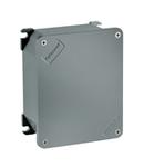 UNIBOX doza conexiuni  din aliaj aluminiu SIZE UNI B19 EXTERNAL DIMENSIONS 253X217X93/INTERNAL DIMENSIONS 236X201X75 - IP66/IP67