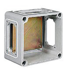 TAIS doza conexiuni  din fibra 250X185X115MM WITH BACK PLATE WITH WINDOWS LIGHTENED/A/LIGHTENED/A