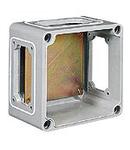 TAIS doza conexiuni  din fibra 250X250X115MM WITH BACK PLATE WITH WINDOWS B/B/B/B