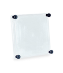 TAIS TRANSPARENT COVER IN POLYCARBONATE, LOW PROFILE, HEIGHT 25 FOR BOX 250X250X115 IP67