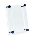 TAIS TRANSPARENT COVER din fibra, HIGH, HEIGHT 75 FOR BOX 250X185X115 IP67