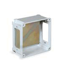 ALUPRES doza conexiuni  din aliaj aluminiu 373X373X140 WITH WINDOWS -/F6/-/F6 - IP55