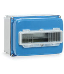 ALUPRES WATERTIGHT CONTROL UNIT 250X125X125 WITH BLIND WALL AND TRANSPARENT DOOR