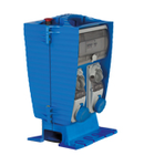 Organizator JANUS ASSEMBLY ACS WITH INTERLOCKED PrizaS 2X 16A 2P+E - 2X 16A 3P+E PROTECTIONS: FUSE INGRESS: INLET IP65