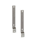 TUNNEL54 PAIR OF SUPPORTS FOR FIXING ENCLOSURES 185X185/252X185