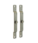 TUNNEL54 PAIR OF SUPPORTS IN STAINLESS STEEL AISI 304 pentru montaj pe perete OF PrizaS FOR VENTILATORS