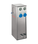 B-SMART STAINLESS STEEL AISI 316L BOLLARD FOR MOOURING WITH 4 INTERLOCKED PrizaS+4TAPS
