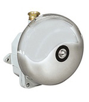 NAVE WATERTIGHT BELLS UNAV 1384 FOR SIGNALLING AND ALARMS IN BRASS ENCLOSURE-PRESETUPA 24X14 M24X1,5 220V IP66