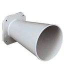 NAVE DIRECTIONAL HORN FOR SIRENS MAX DIA 112MM PROJECTION OF SIREN+HORN 238MM UNAV 1382