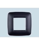 Placa ornament 3 module (1+1+1) NEGRU  ECO60
