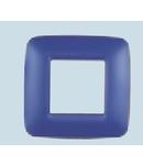 Placa ornament 2 module (1+1) Albastru  ECO60