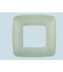 Placa ornament 3 module (1+1+1) Verde deschis  ECO60