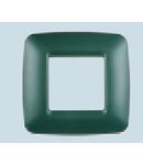 Placa ornament verde 2P (1+1)  ECO60