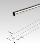 Tub metalic din inox pentru cabluri electrice,D.ext.32 mm
