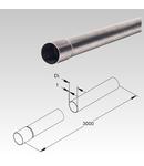 Tub metalic din inox pentru cabluri electrice,D.ext.32 mm cerinte mecanice extreme