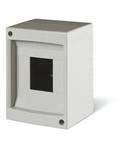 Tablou electric IP40 montaj aparent 2/4 DIN 2/4 MOD. 130x97x84mm WHITE