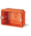 montaj incastrat BOX 83,5mm ORANGE THERMOPLASTIC