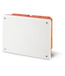 montaj incastrat BOX 92x92x45mm WHITE THERMOPLASTIC