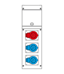 Cutie montaj IP44 3P+N+E 16A 400V