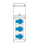 Cutie montaj IP44 2P+E 16A 230V