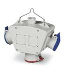 MULTI -WAY ADAPTOR IP44 16A 2P+E 230V