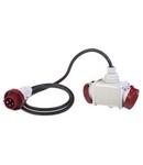 MULTI -WAY ADAPTOR IP66 16A 3P+E 400V
