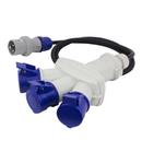 MULTI -WAY ADAPTOR IP44 16A 3P+E 400V