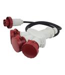 MULTI -WAY ADAPTOR IP66/IP67 16A 3P+E 400V
