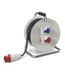 Derulator industrial IP44 16A 3P+N+E 400V 20m