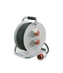 Derulator industrial IP44 16A 3P+E 400V 30m
