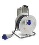 Derulator industrial IP55 16A 3P+E 400V 30m