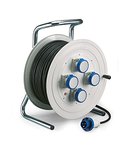 Derulator industrial IP55 16A 3P+E 400V 50m