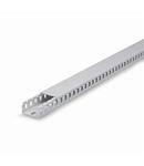 Canal cablu perforat 60x80mm 1 WAY GREY 68mm