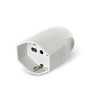 Conector 2P+E 16A WHITE